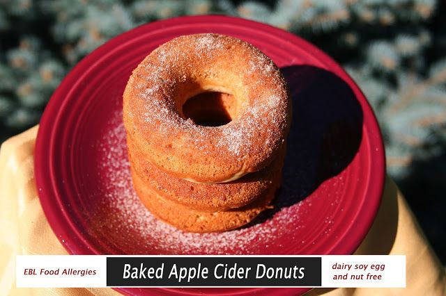Allergy Friendly Baked Apple Cider Donuts perfect for fall weather ...