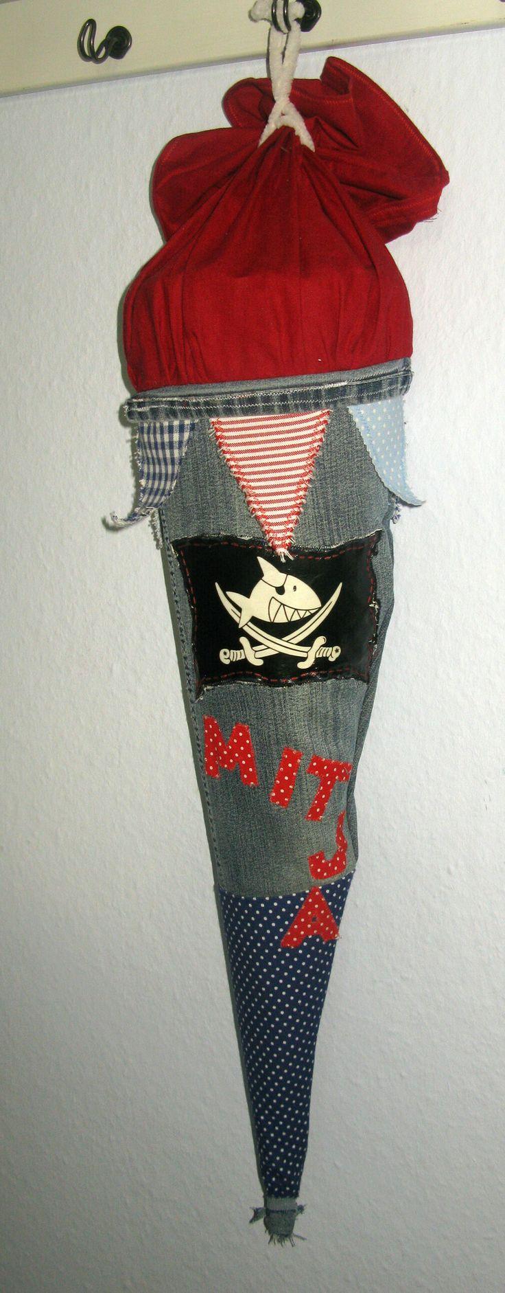 © Anna Galkina. Schultüte aus Stoff #sewing #crafts