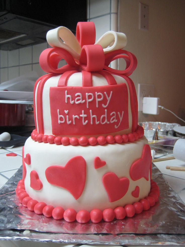 Valentine S Day Birthday Cake Images : Valentine s Day Birthday Cake Valentine s Day ...