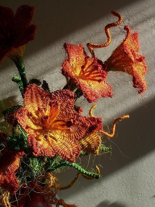 My flowers in beautiful light