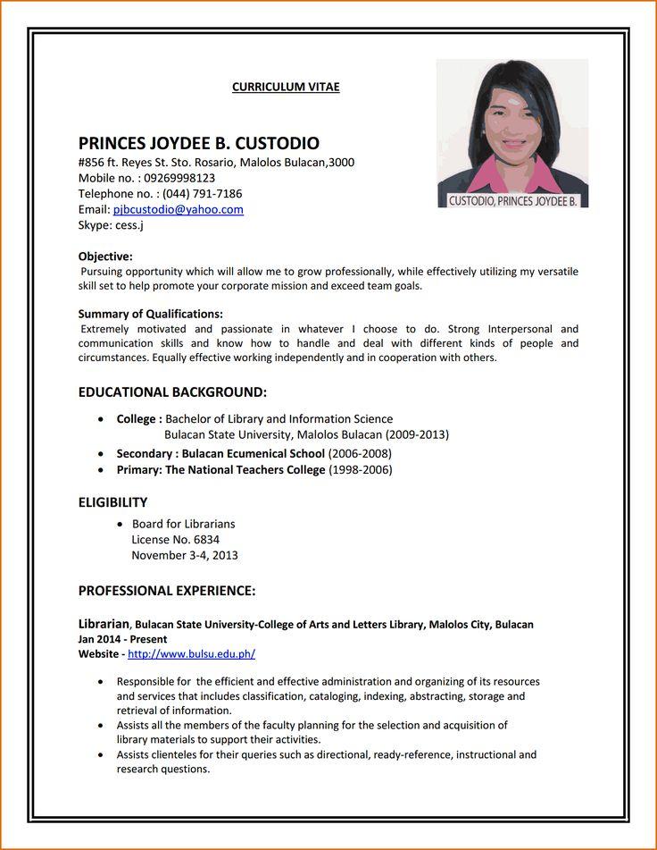How To Make A Resume For First Job Pdf لم يسبق له مثيل الصور
