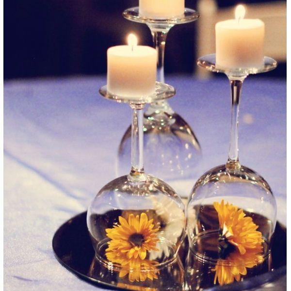 Ideias criativas de como decorar com velas