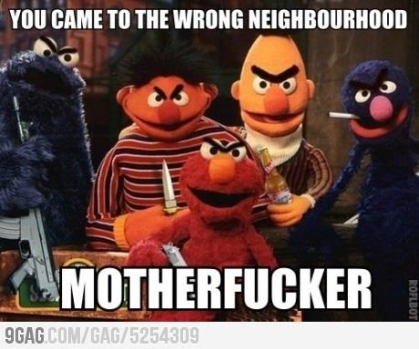 Sesame Street Thugs