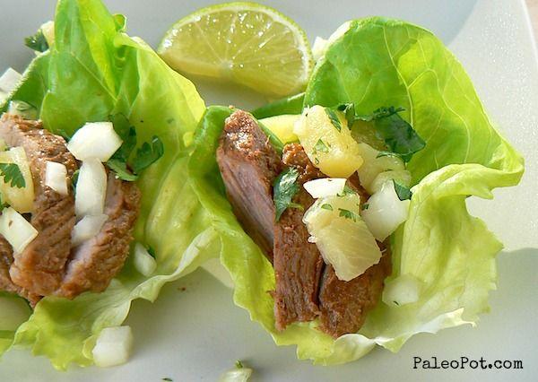 Slow Cooker Tacos Al Pastor (pineapple chile pork)Slowcooker Pork ...