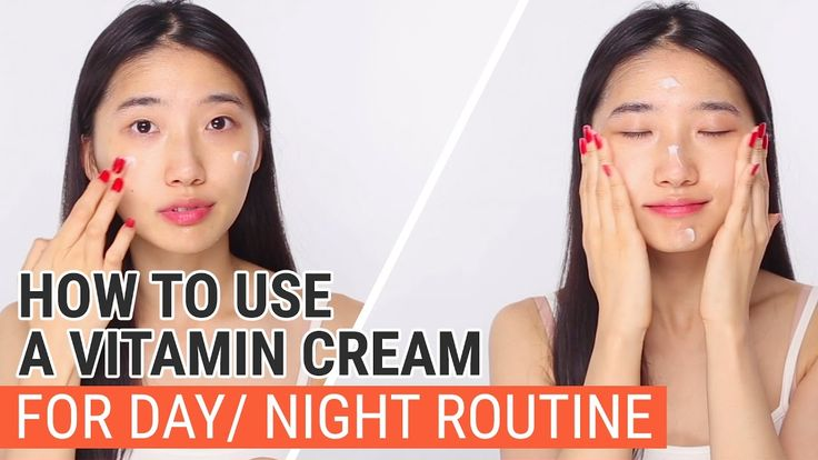 How to Use A Vitamin Cream for Day&Night Routine