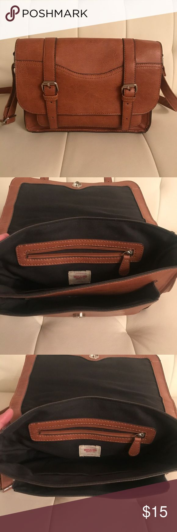 Mossimo Brown Satchel Great condition! Brown Mossimo satchel Mossimo Supply Co Bags Satchels