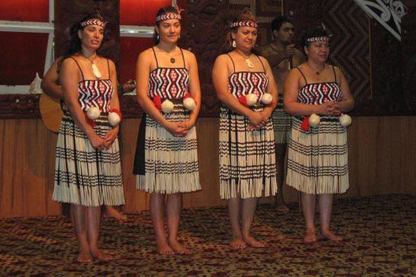 Nueva Zelanda   Vestimentas tradicionales