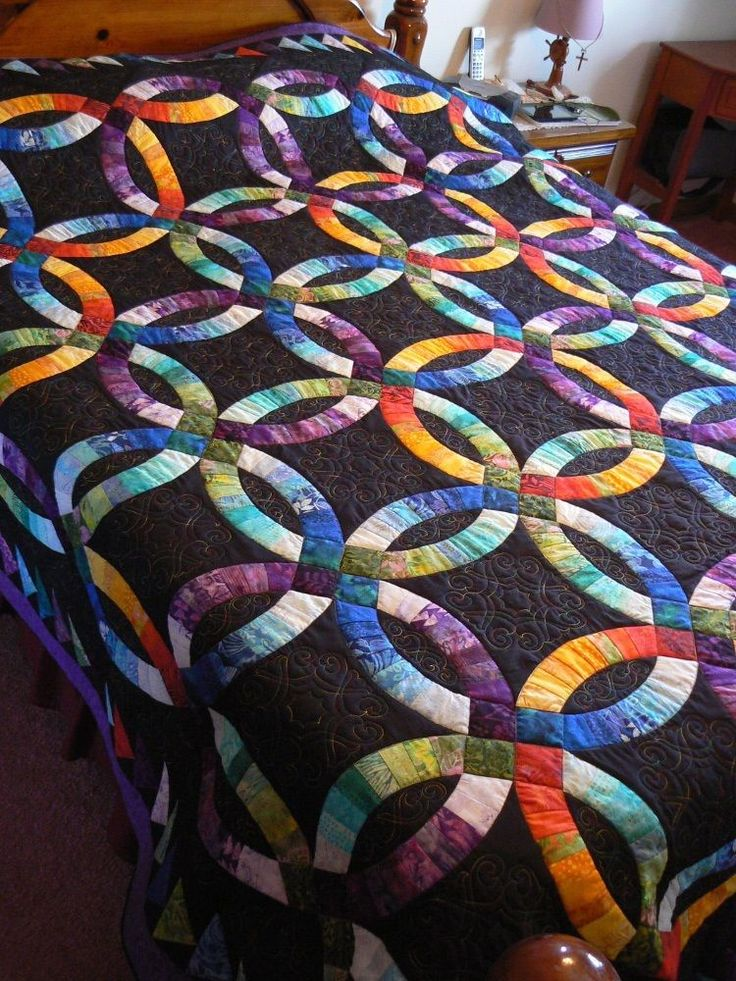 Quilting Designs For Wedding Ring Quilts : 25+ best ideas about Wedding ring quilt on Pinterest Double wedding, Double wedding rings and ...