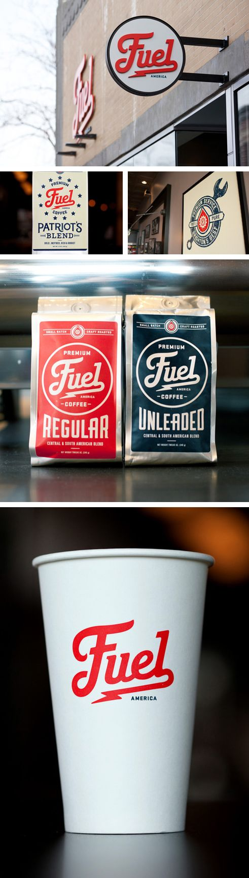 Fuel coffee branding