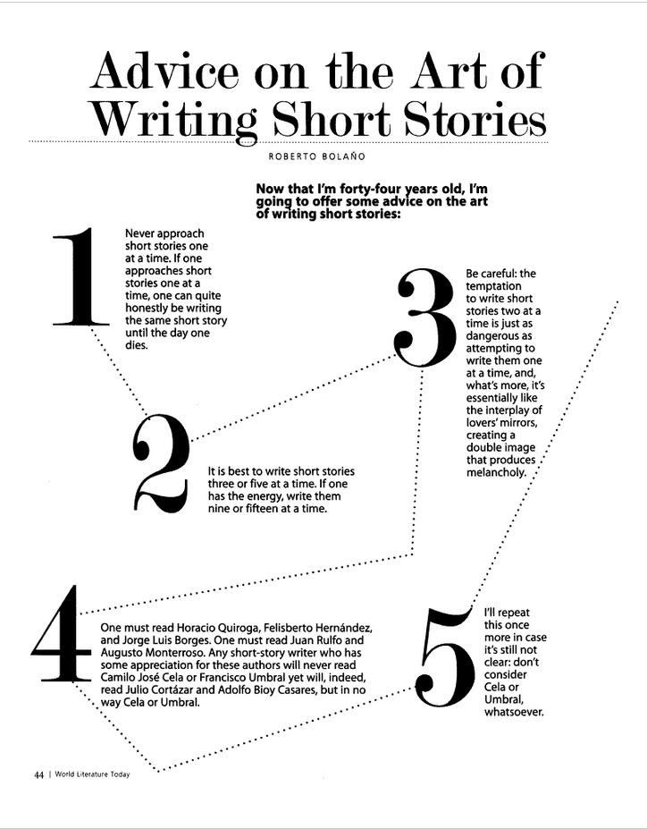 Short story writing books