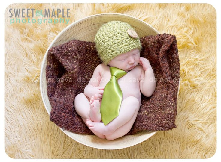 Newborn Necktie Available at, www.facebook.com/SassAndClassBoutiqueOttawa   Photographed by: Sweet Maple Photography