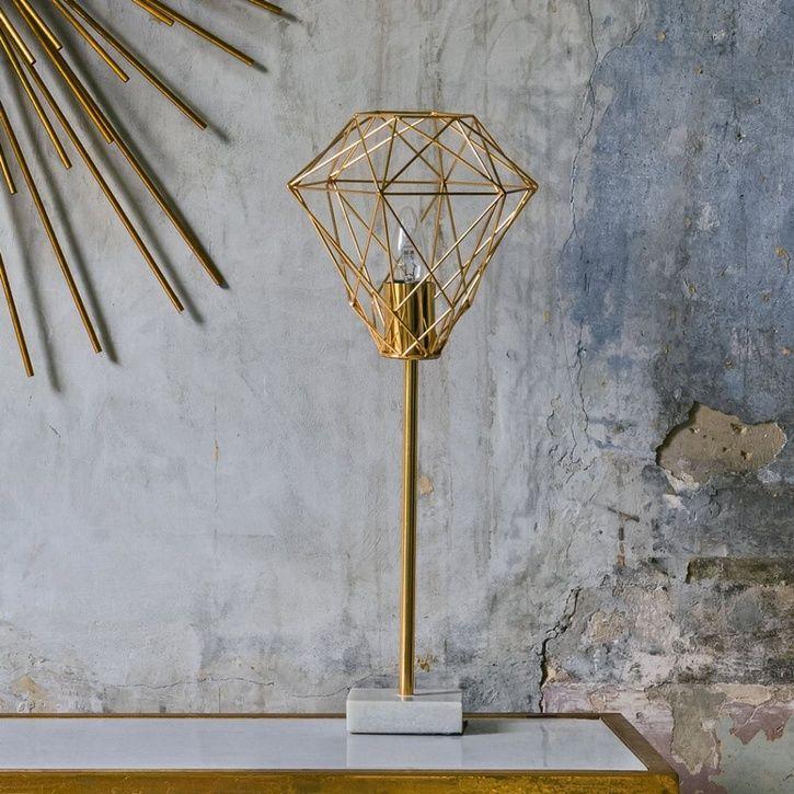 Graham green diamond wire table light prezola the wedding gift list