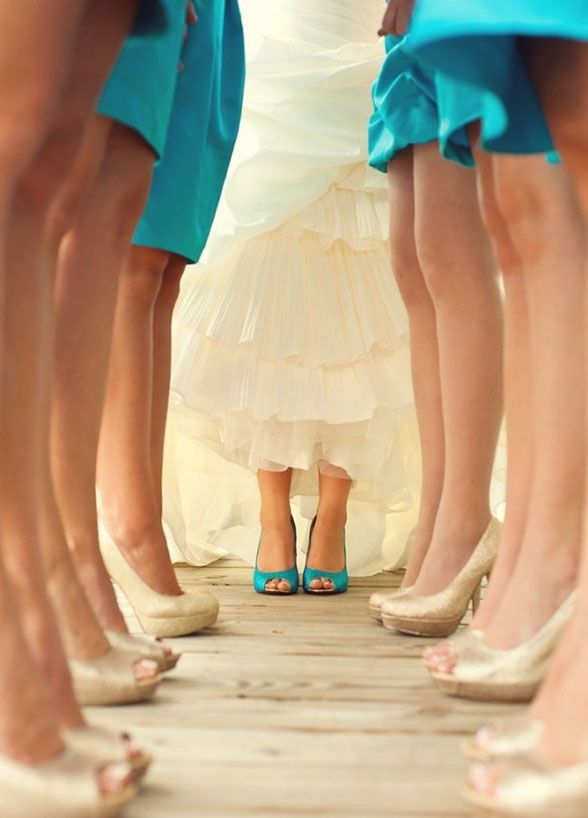 Bridesmaids, Bridal Party, Bridesmaid Photos, Wedding Photo Ideas || Colin Cowie Weddings