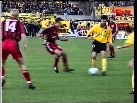 2000 December 7 AEK Athens Greece 2 Bayer Leverkusen Germany 0 UEFA Cup