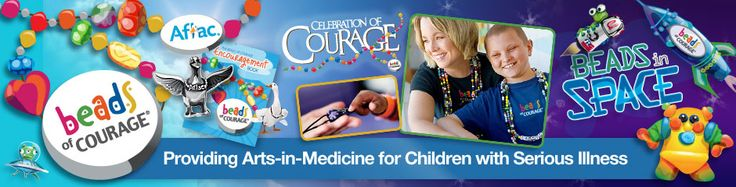Beads of Courage Program- chronically ill children tell their story with beads as symbols that commemorate treatment milestones