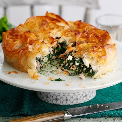 crispy spinach pie