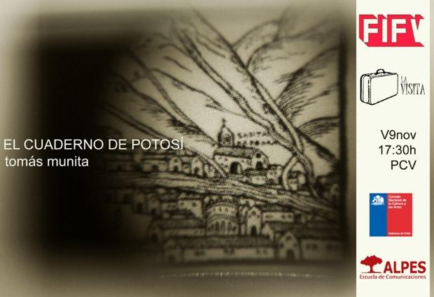 El cuaderno de Potosí: el nuevo libro de Tomás Munita | Fotografía