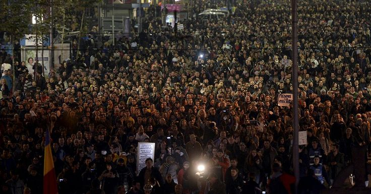 Chants demanding cabinet resignations rang out in the centre of Romania's capital Bucharest on Tuesday (Nov 3) evening as thousands marched towards government head quarters. Anger and grief spurred on the protest as the death toll from a nightclub fire at the weekend reached 32. Around 130 were injured and remain in hospital, half of them in a critical or serious…
