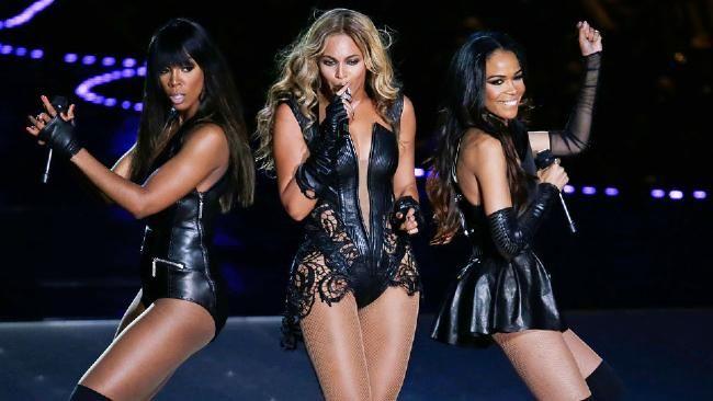 Destiny's Child reunited 2013 Super Bowl