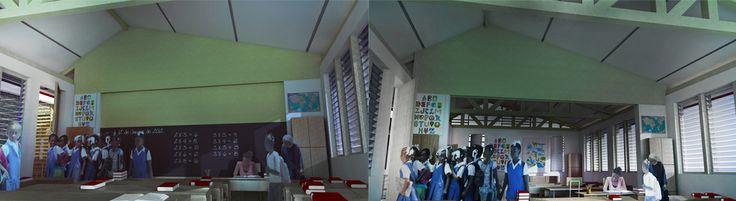 Centre Rosalie Javouhey Phase 1 Internal Renders © 2011 - 2013 Thinking Development