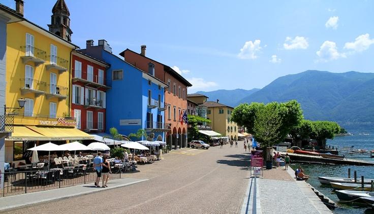 Le case colorate di Ascona