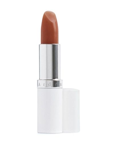 "For everyday wear, Goodwin suggests complementing bold fringe with a neutral lip. ""Beige-y lip glosses look really good on redheads,"" she says. ""I love 	 	Elizabeth Arden Eight Hour Cream Lip Protectant Stick in Honey. It looks warm and natural.""    - ELLE.com"