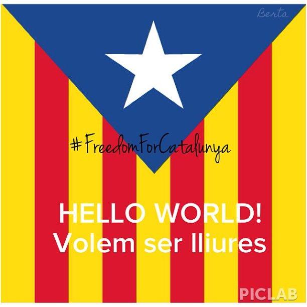 INDEPENDENCIA CATALUNYA #freedom #europe