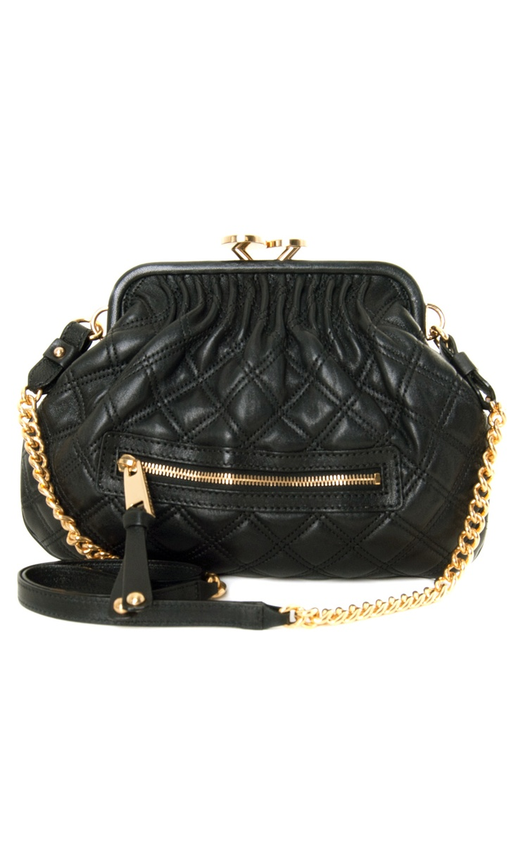Marc Jacobs Little Stam Cross Body Black quilted bag - spring/summer collection