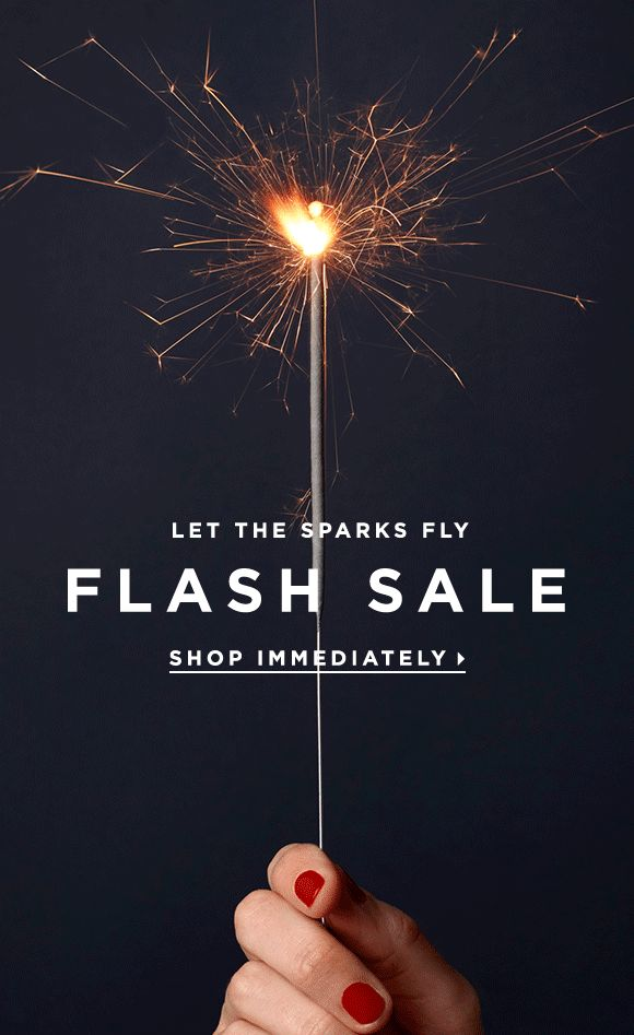 LOFT sale email. SL: FLASH SALE, Who's ready to celebrate?