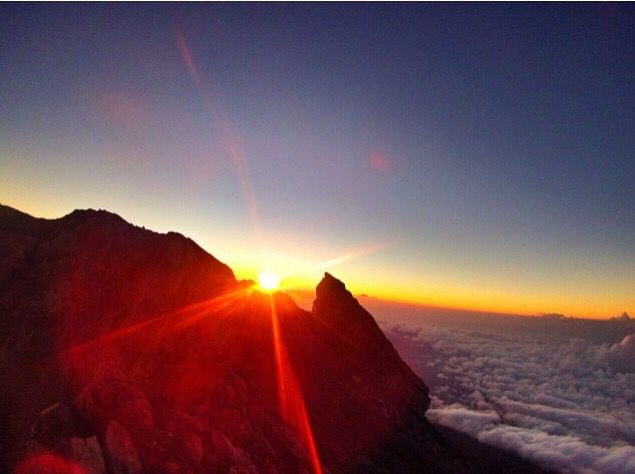 Location: agung mountain