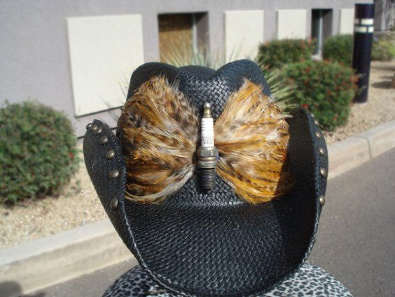 Bret Michaels Handmade Sparkplug Custom Cowboy Hat