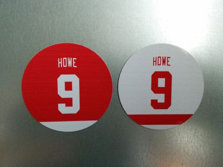 Gordie Howe magnet | Detroit Red Wings #9 | Fridge Magnet 2.75 inches  #DetroitRedWings