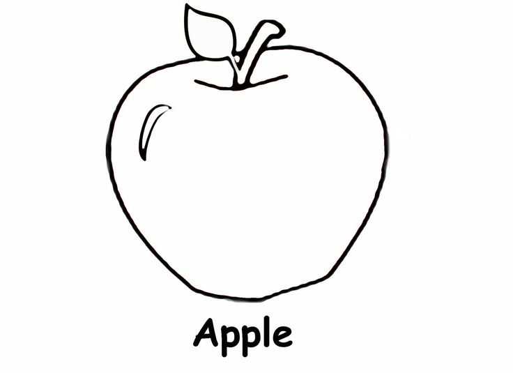 Free Printable Apple Coloring Pages For Kids Coloring