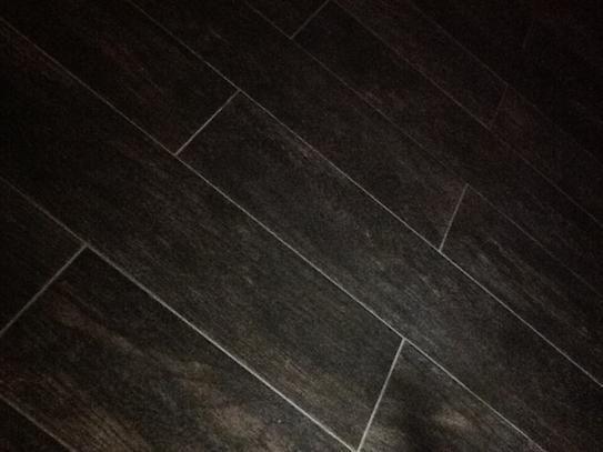 Marazzi Montagna Smoky Black 6 In X 24 In Glazed