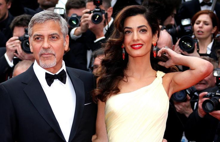 George and Amal Clooney Commit To Helping Syrian Refugee Kids Get Their Education