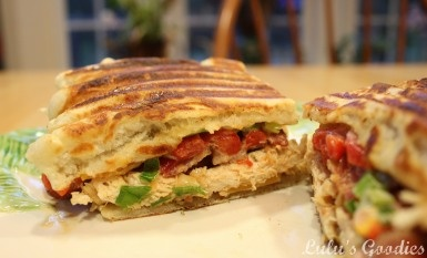 Spicy Chicken Bacon Ranch Panini - YUMMMM!!!