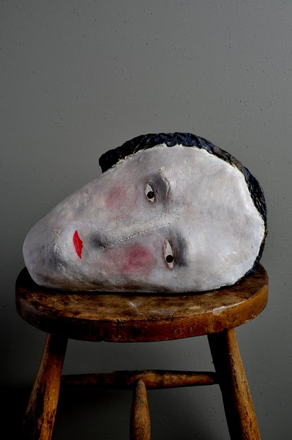 Claire Loder ceramic head.