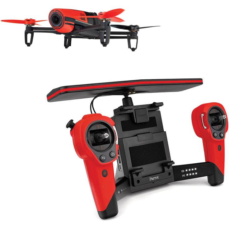 Parrot Bebop Drone - it looks simple, but it's full of interesting features!