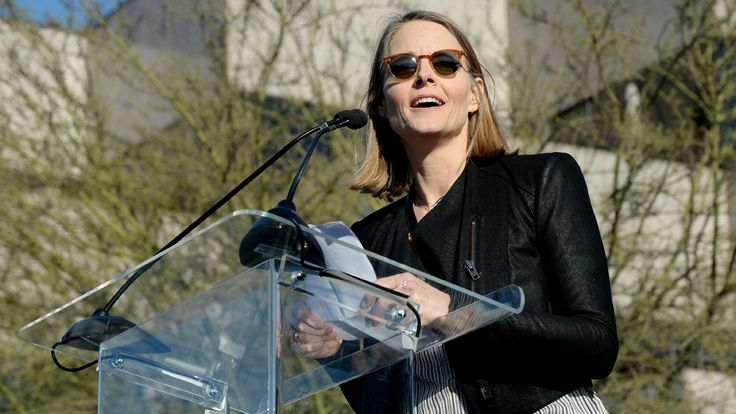 "UPDATED: Jodie Foster was among the ""United Voices"" that spoke up against Donald Trump at UTA's rally outside its Beverly Hills offices on Friday. According to the Beverly Hills P…"