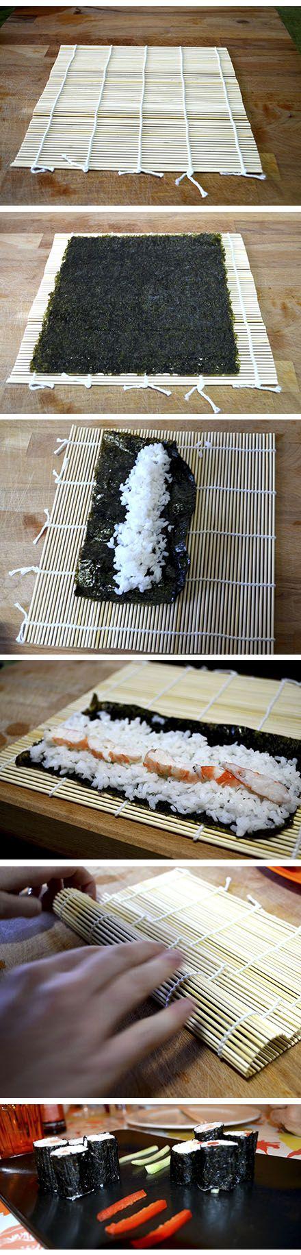 Aprende a hacer maki, una modalidad de sushi. Mira esta receta japonesa en nuestra web. #RecetasGalaicus #maki #sushi #receta #comidajaponesa