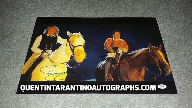 My Quentin Tarantino Autograph Collection: Don Johnson and Jonah Hill of Django Unchained! Au...