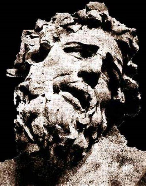 """1900- Capul lui Laocoon. Brancusi obtine o medalie de bronz pentru Capul luil """"Laocoon"""" in cardul unui concurs organizat la scoala Nationala de Arte Frumoase din Bucuresti."""