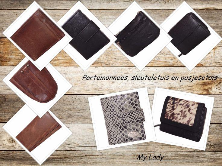 Superblij dat de geweldige portemonnes, pasjes- en sleuteletuis van My Lady nu ook online te verkrijgen zijn!
