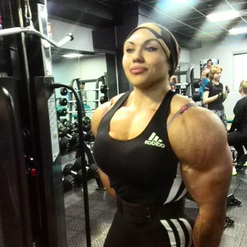 image result for nataliya kuznetsova  muscle women body