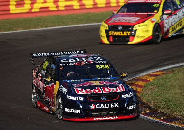 Craig Lowndes Photos - V8 Supercars - Triple Crown Darwin: Qualifying And Race 15 - Zimbio