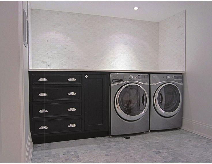 "Materials Used: Calacatta Oro Long Octagon & Bianco Carrara 2"" Hexagon"