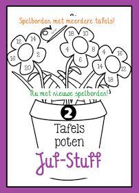 Juf-Stuff: Tafels poten [aanvulling]