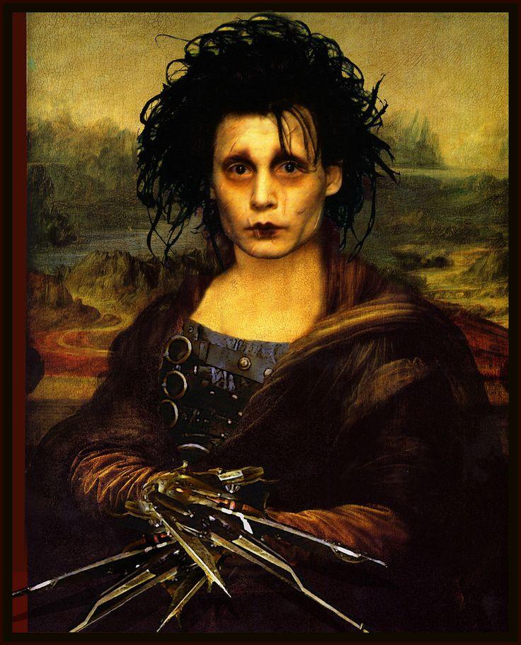 Mona Scissorhands...by The Whimsey Asylum