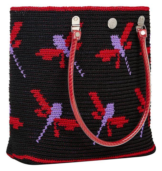 Wayuu Mochila bag dragonfly #carryall #skippinggirl #luck