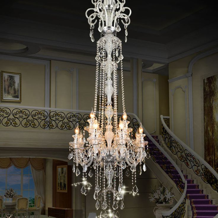 European crystal chandeliers Luxury chandelie Crystal modern european fashion K9 top crystal chandel-  Item Type: Chandeliers  Features: home lighting  Finish: Iron  Style: Contemporary  Voltage: 220V,90-260V,230V,120V,110V,110-240V,240V  Certification: CE  Warranty: 3  Power Source: AC  Is Dimmable: Yes  Brand Name: Mel house  Shade Type: Shadeless  Body Material: Chrome  Base Type: E14  Model Number: gt87  Shade Direction: Up  Light Source: Incandescent Bulbs  Switch Type: Knob switch…